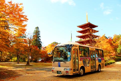 成相寺登山バス
