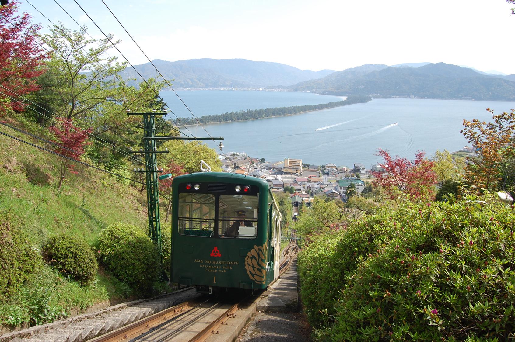 Amanohashidate-kasamatsu Park Cable car