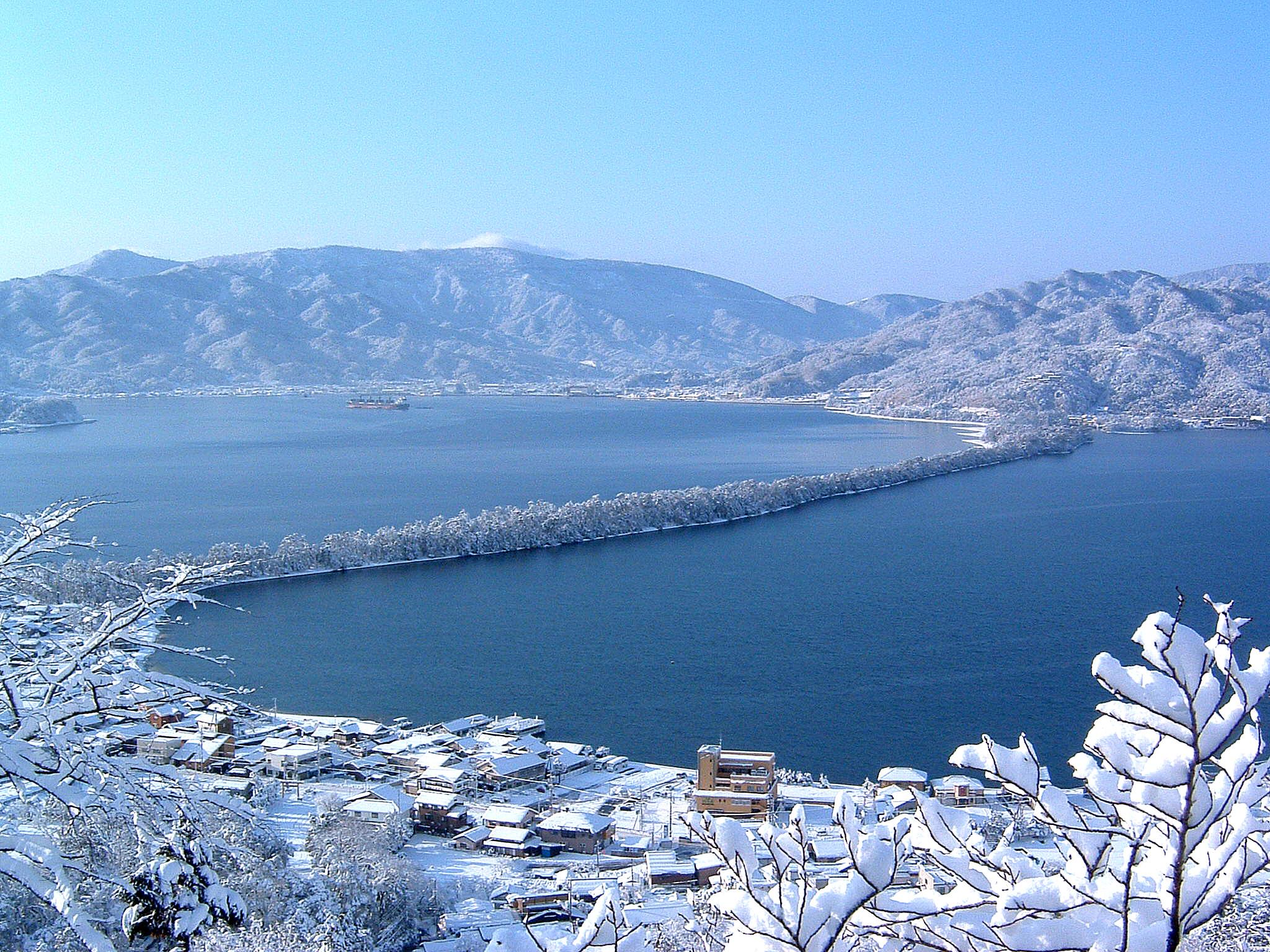 昇龍観 雪
